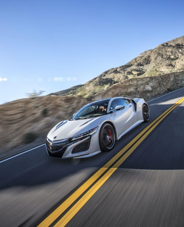 2018 Acura Nsx Wallpapers Hd Drivespark