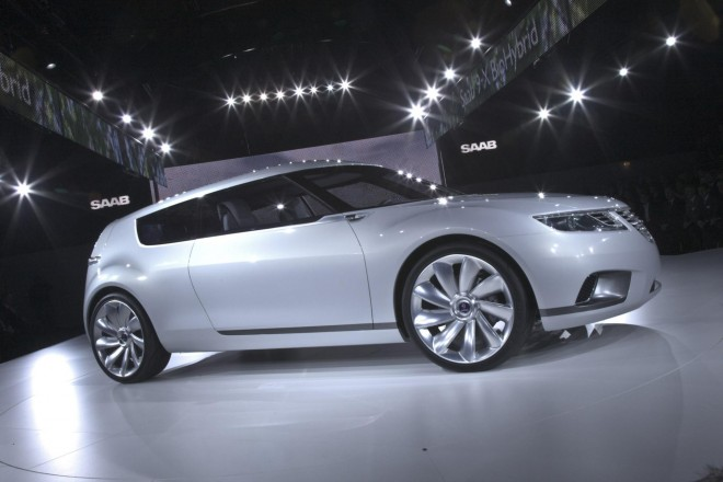 2008 Saab 9-X BioHybrid Concept Wallpapers