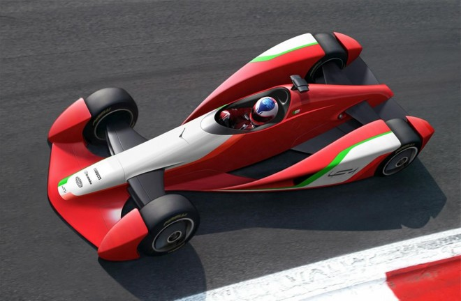 2009 Fioravanti LF1 Concept Wallpapers