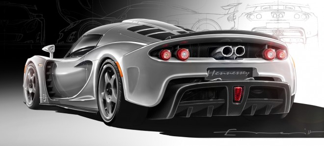 2009 Hennessey Venom GT Concept Wallpapers