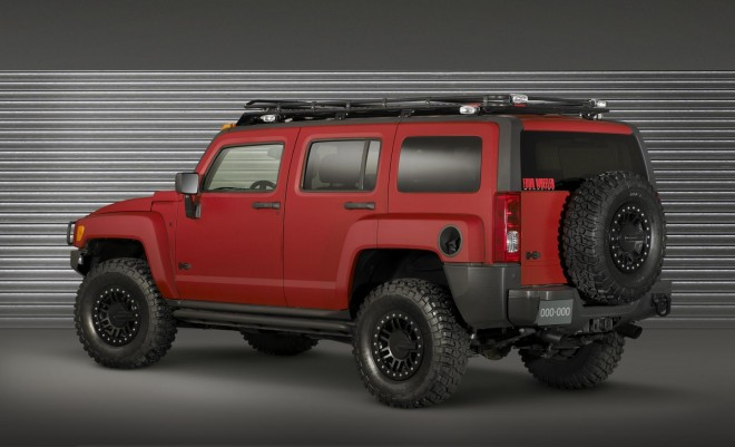 2009 Hummer H3 Alpha Four Wheeler Project Trailhugger Concept Wallpapers