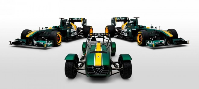 2011 Caterham Team Lotus Special Edition Sevens Wallpapers