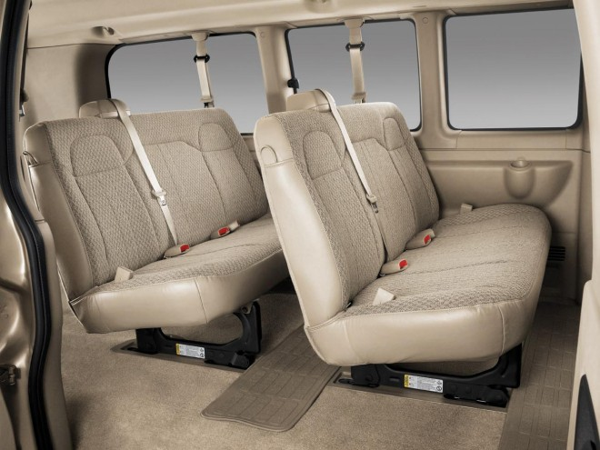 2016 Chevrolet Express Passenger Van Wallpapers