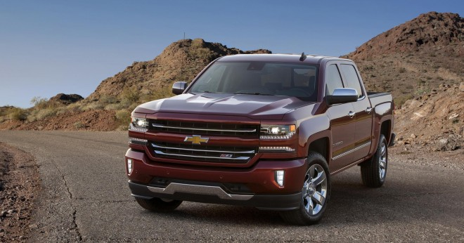 2016 Chevrolet Silverado Wallpapers