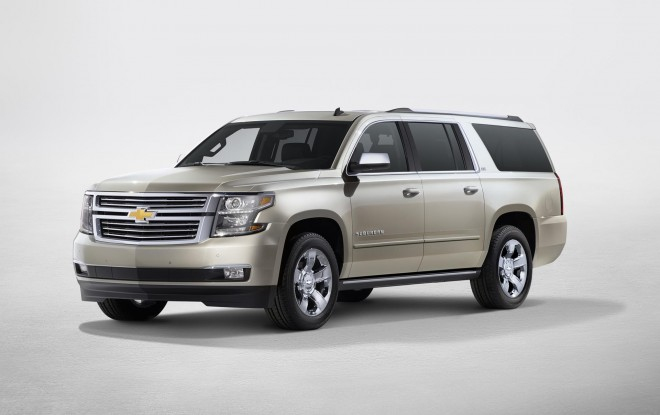 2016 Chevrolet Suburban Wallpapers