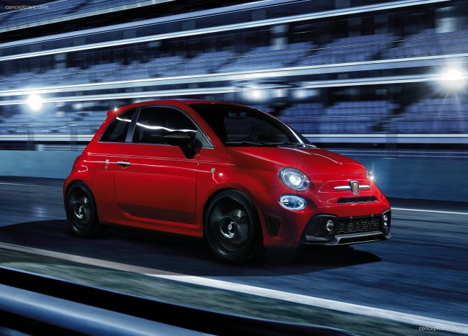 2017 Abarth 595 Pista Wallpapers