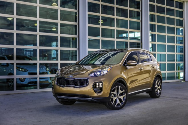2017 Kia Sportage Wallpapers