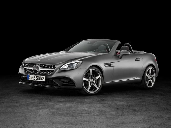 2017 Mercedes-Benz SLC Wallpapers