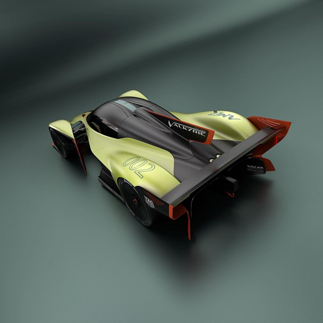 2018 Aston Martin Valkyrie AMR Pro Wallpapers [HD