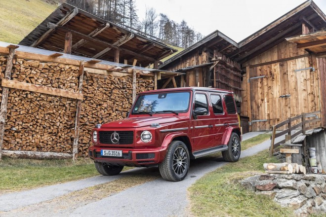 2019 Mercedes-Benz G 350 d Wallpapers