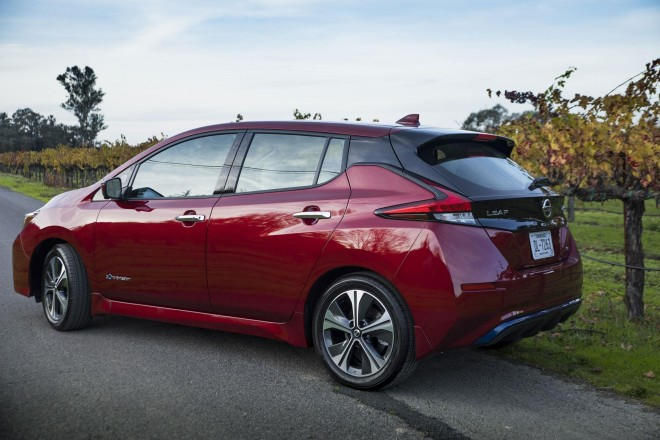 2019 Nissan Leaf Wallpapers