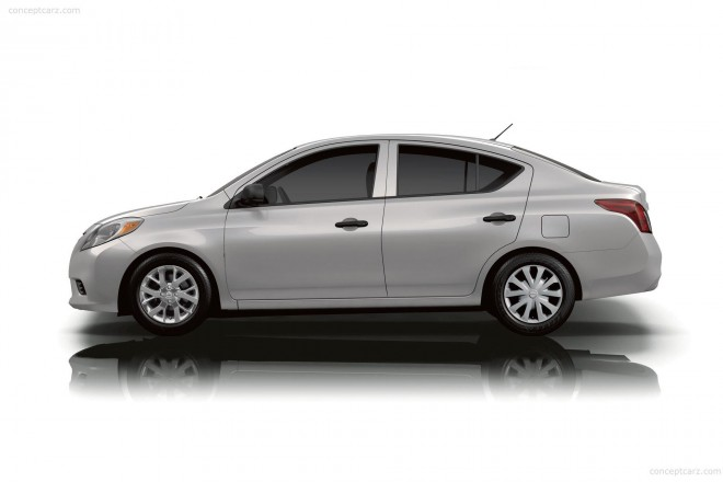 2019 Nissan Versa Wallpapers