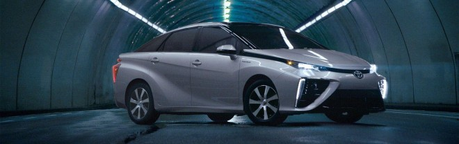 2019 Toyota Mirai Wallpapers