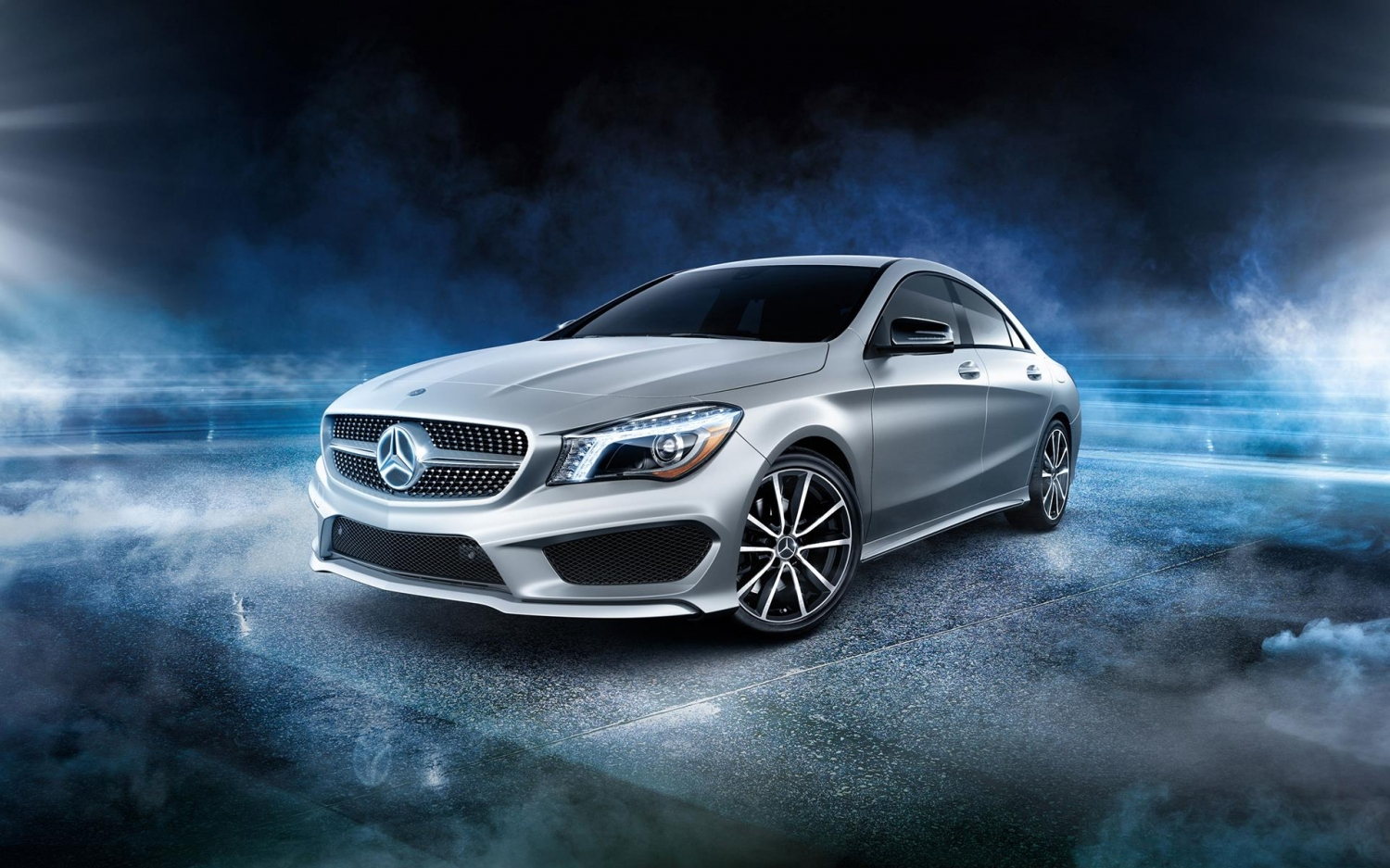 2016 mercedes benz cla class wallpapers hd drivespark. Black Bedroom Furniture Sets. Home Design Ideas