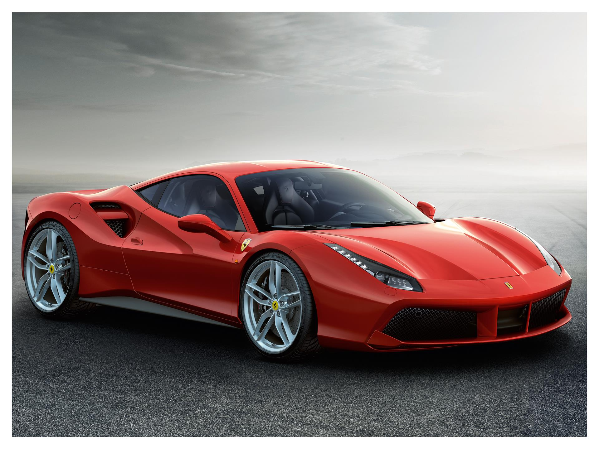 2015 Ferrari 488 Gtb Wallpapers Hd Drivespark