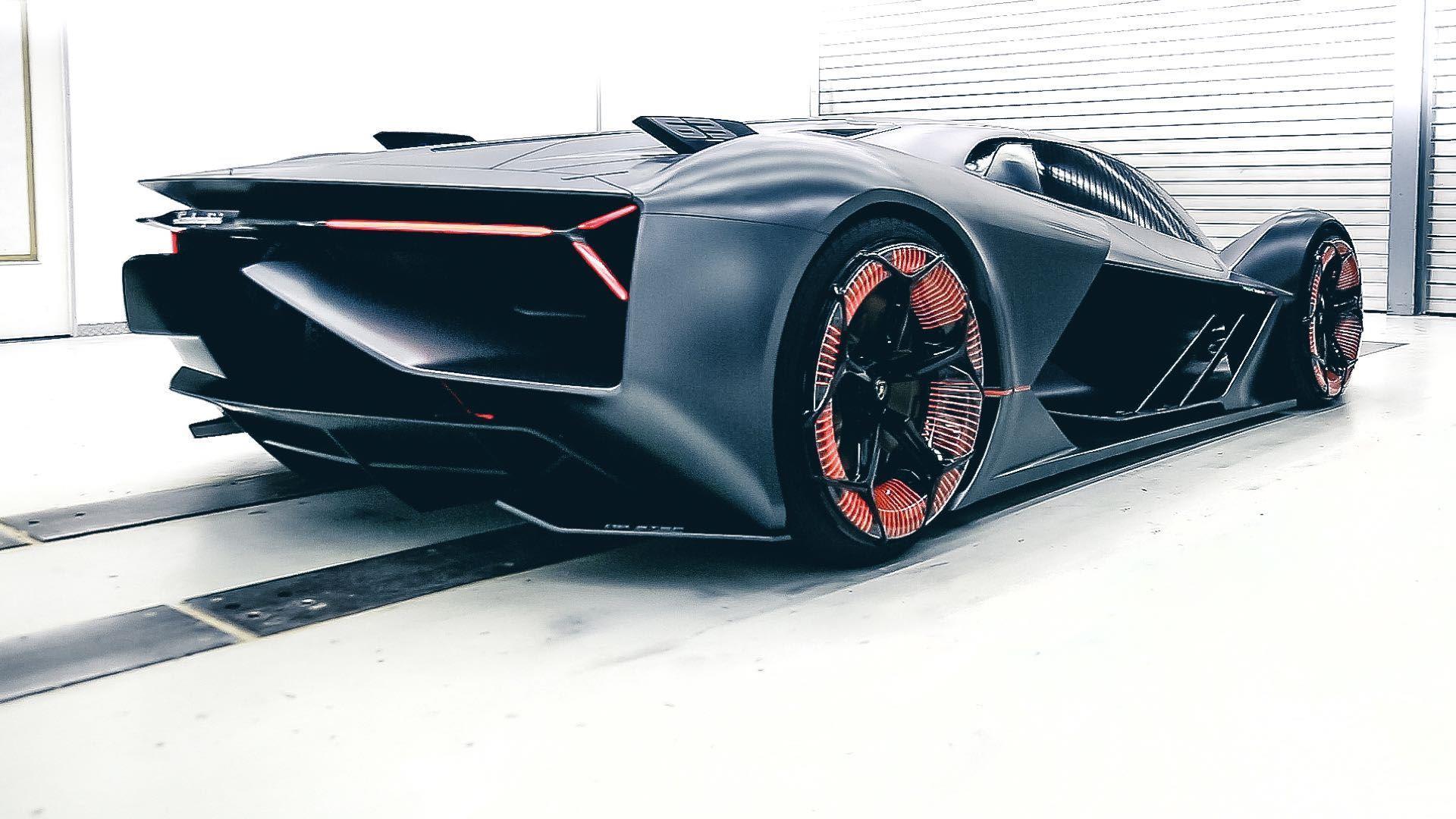 2017 Lamborghini Terzo Millennio Concept Wallpapers Hd Drivespark