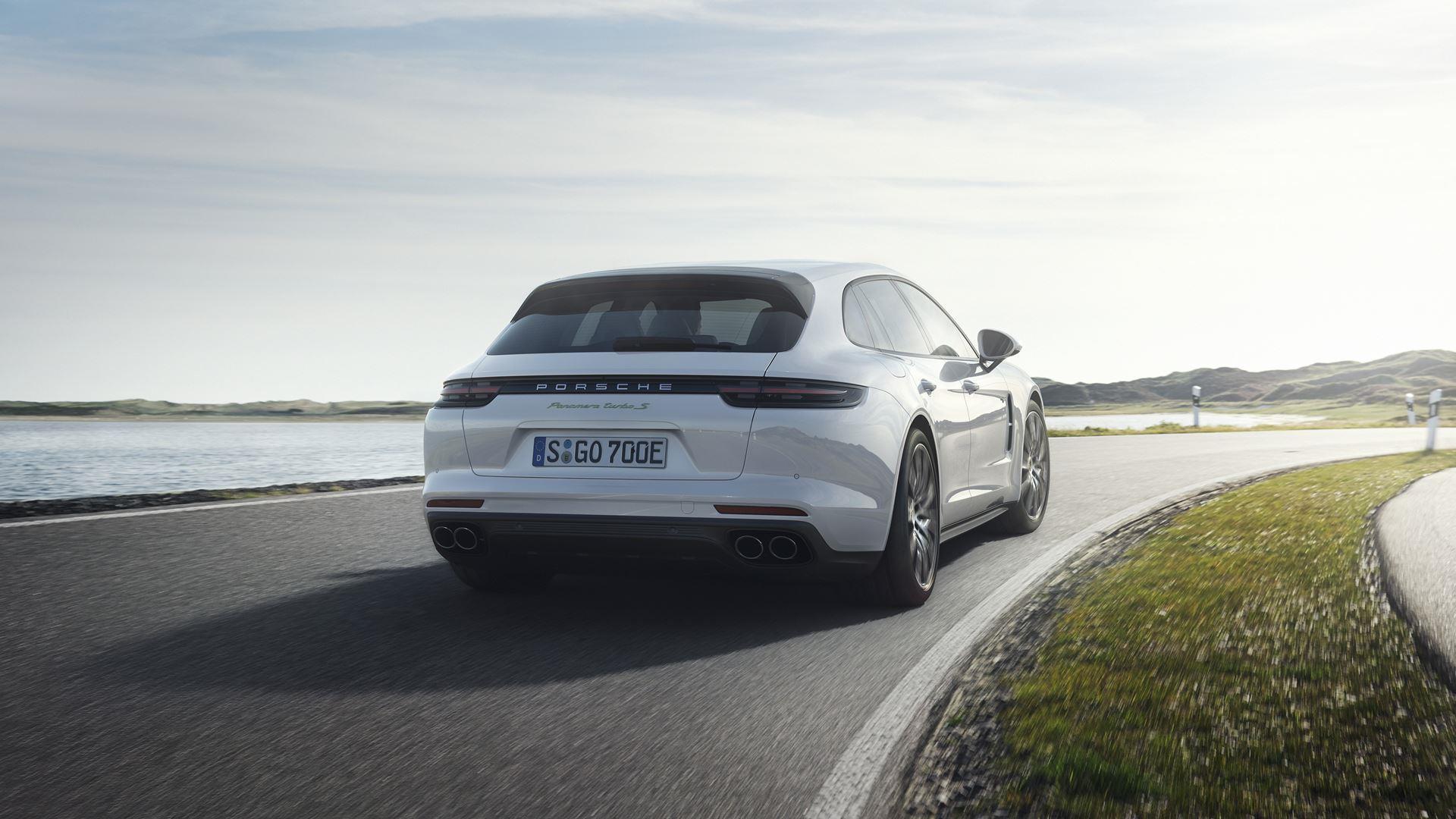 2018 Porsche Panamera Turbo S E Hybrid Sport Turismo Wallpapers Hd Drivespark