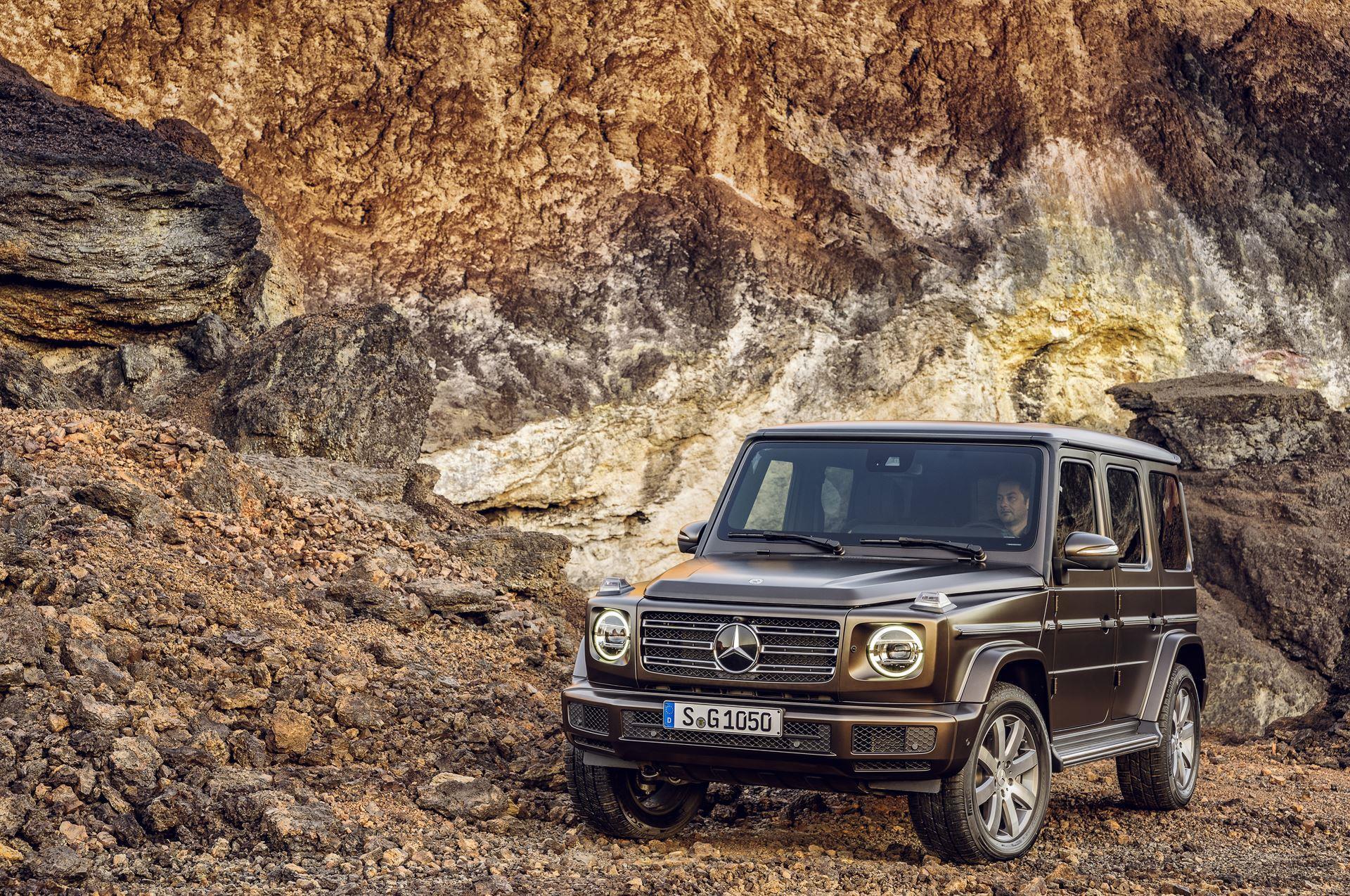 2019 Mercedes Benz G Class Wallpapers Hd Drivespark